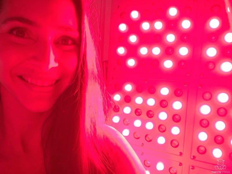 Facial red led light 660 nm pic 909
