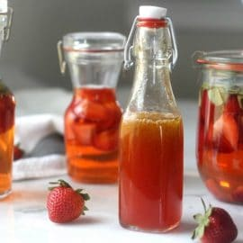 Strawberry Infused Vinegar (Plus A Strawberry Vinaigrette Recipe)