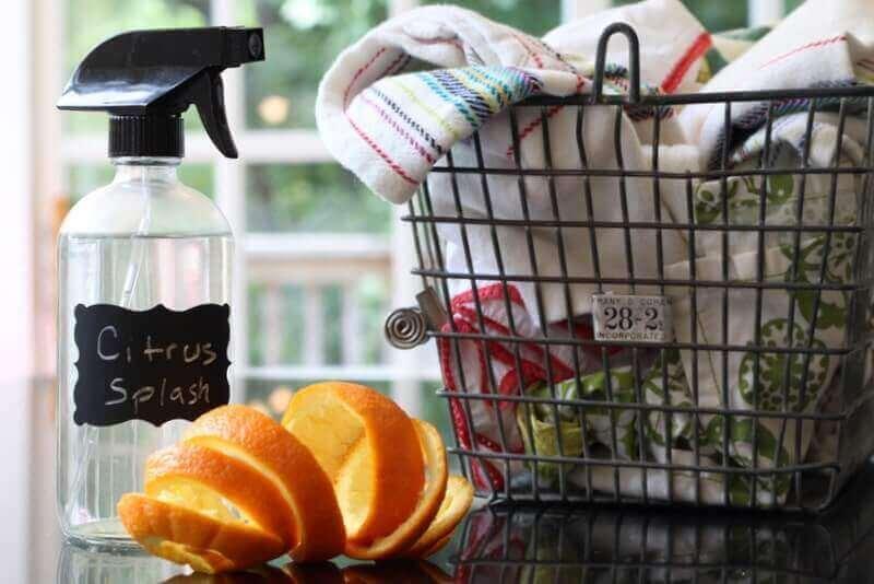 DIY Citrus Splash All–Purpose Cleaner