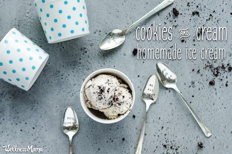 cookies cream ice cream