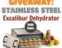 Stainless Steel Excalibur Dehydrator Review