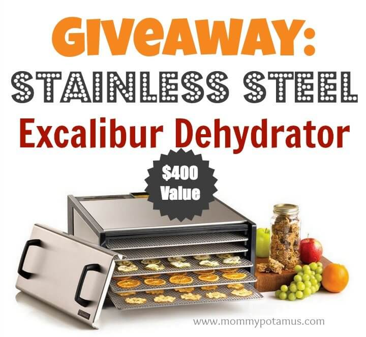 excalibur dehydrator giveaway