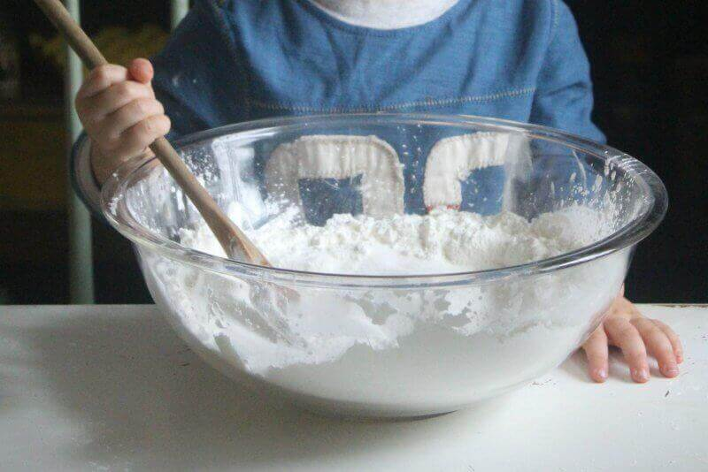 gluten free salt dough ornaments step