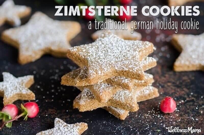 paleo German Christmas cookie
